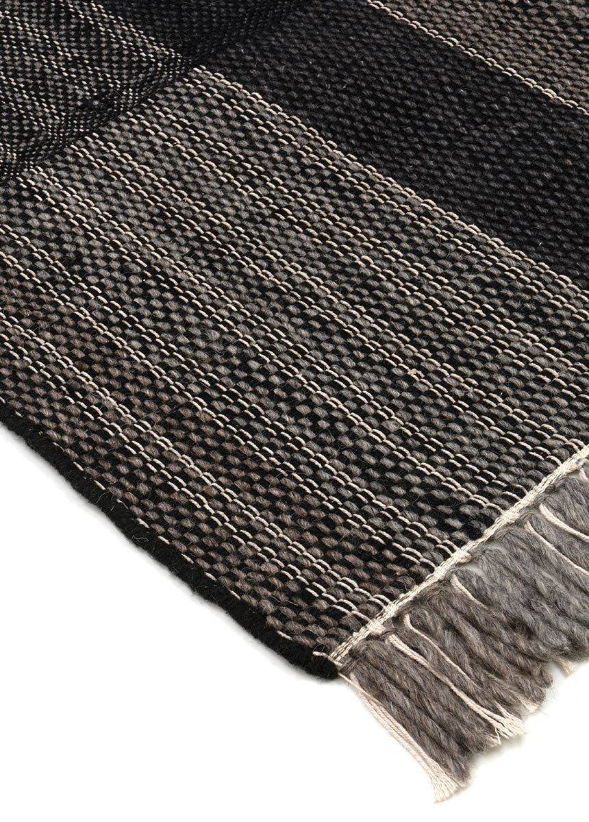 Dywan Carpet Decor Norton Black Gray