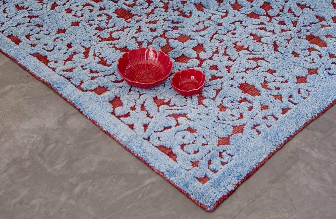 Dywan Gan Damasco Blue