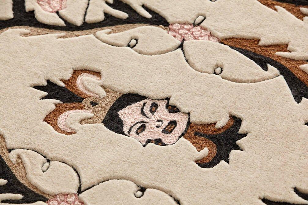 Dywan Gan Dreams Medieval Faces Brown