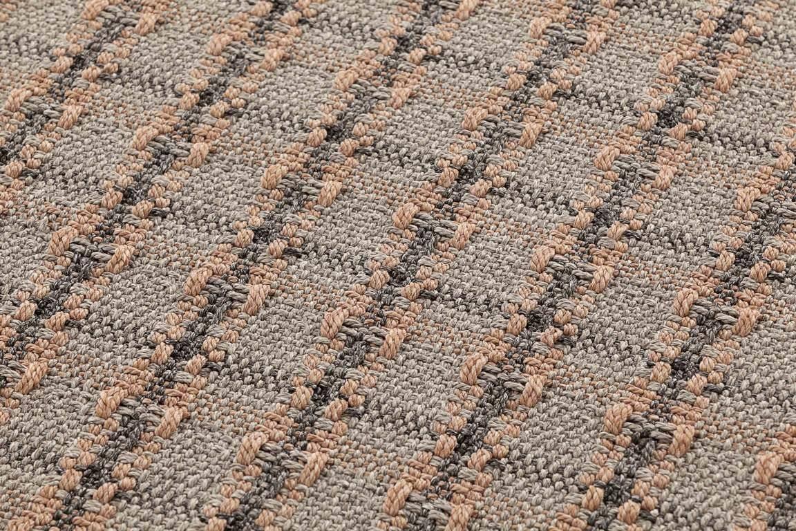 Dywan Gan Garden Layers Checks Terracotta