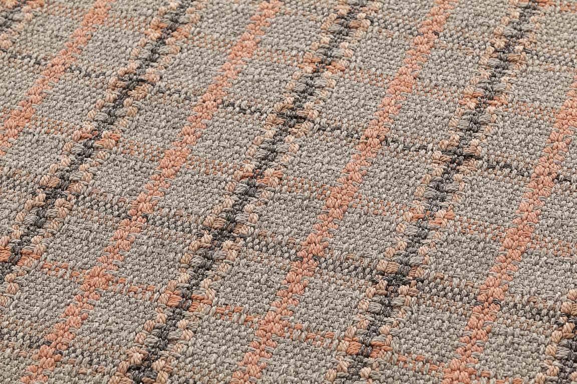 Dywan Gan Garden Layers Tartan Terracotta