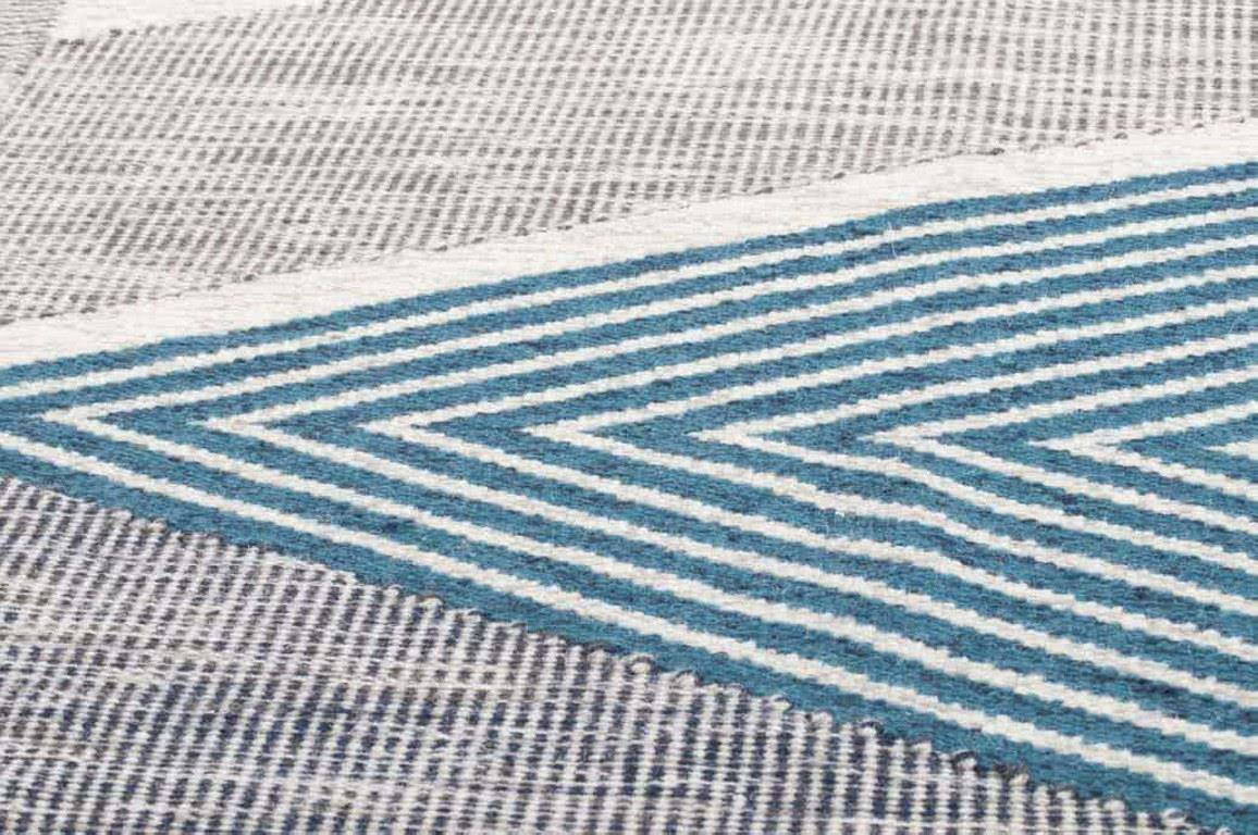 Dywan Tom Tailor Modern Kelim Turquoise Multi 725
