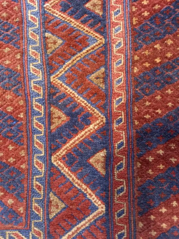 Dywan Wełniany Afghan Unique Mushwani 205 x 280