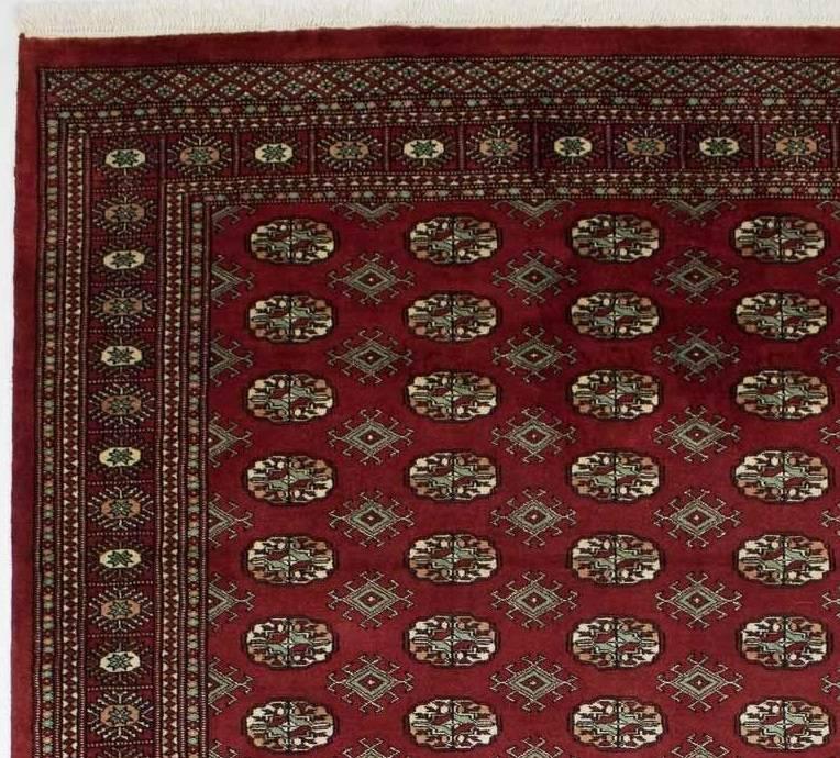 Dywan Wełniany Pakistan Buchara Red 53528 203 x 292
