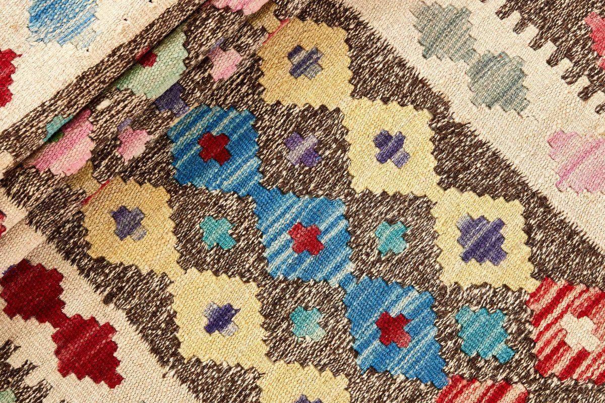 Dywan kilimowy  Afghan Kelim 1414100 81x293cm