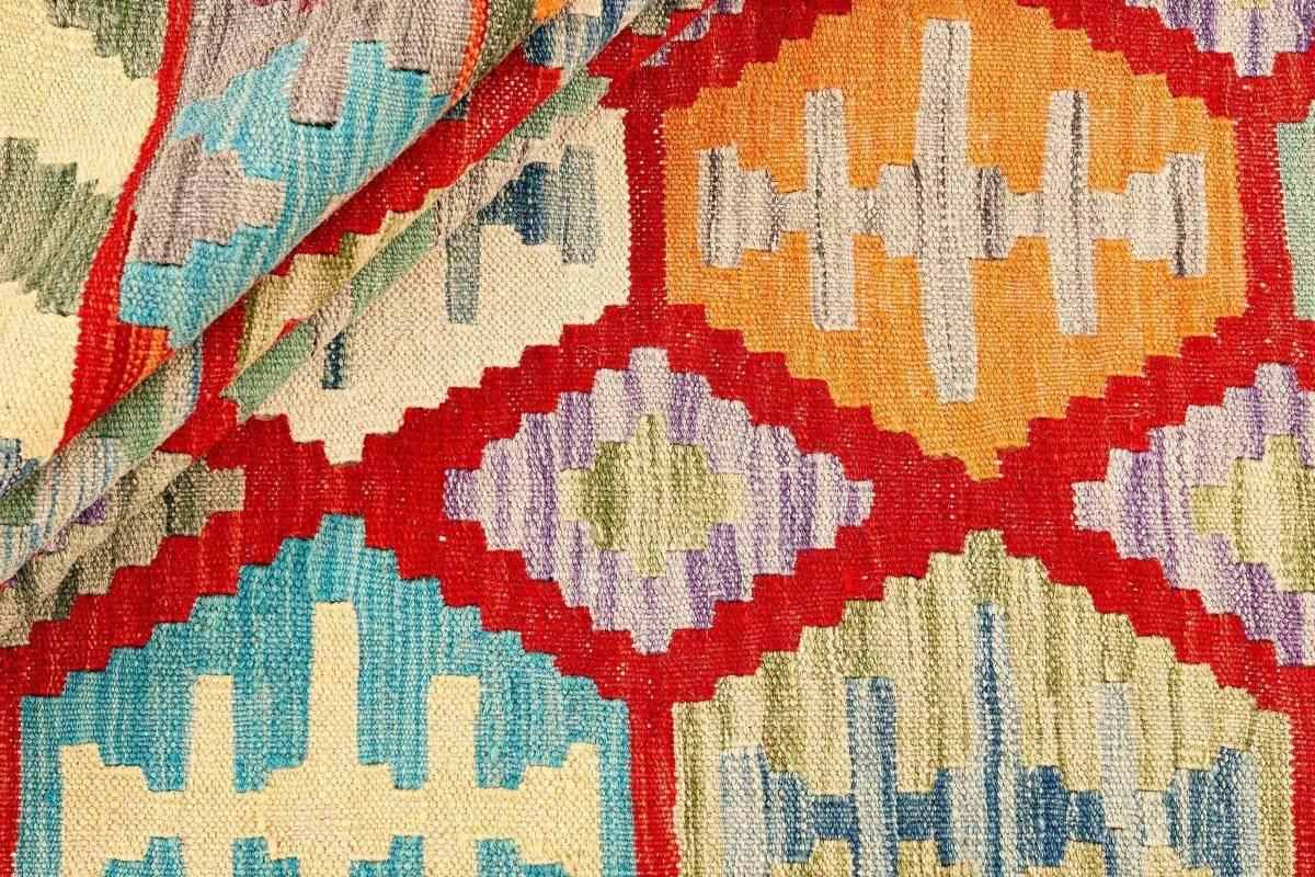 Dywan kilimowy  Afghan Kelim 1414789 204x293cm